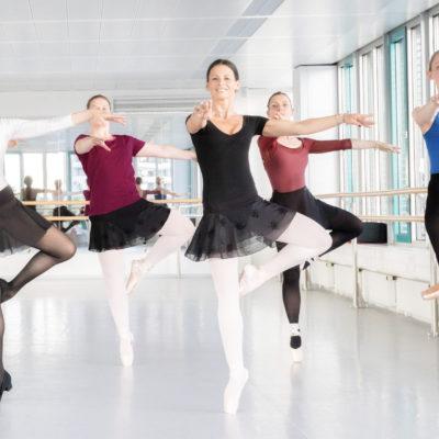 Ballett für Erwachsene – Mittelstufe