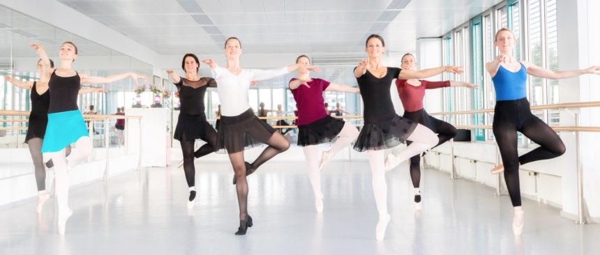 Ballett für Erwachsene -Spitze